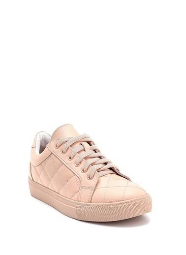 Derimod Kadın Ayakkabı (20704) Spor Pudra